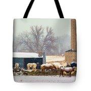 The Barn Yard Tote Bag