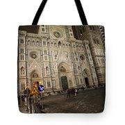 The Basilica Di Santa Maria Del Fiore  Tote Bag