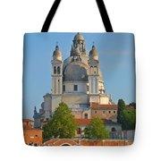 The Basilica Di Santa Maria Della Salute Tote Bag