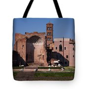 The Basilica Of Constantine Tote Bag