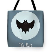 The Bat Cute Portrait Tote Bag