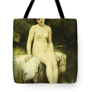 The Bather Tote Bag by Leon Bazile Perrault