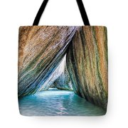 The Baths Virgin Gorda British Virgin Islands Tote Bag