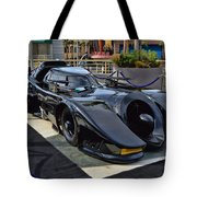 The Batmobile Tote Bag
