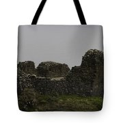The Battered Remains Of The Urquhart Castle In Scotland Tote Bag