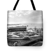 The Battery In Manhattan Tote Bag