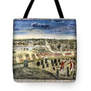 The Battle Of Concord, 1775 Tote Bag