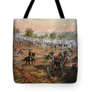 The Battle Of Gettysburg, July 1st-3rd Tote Bag