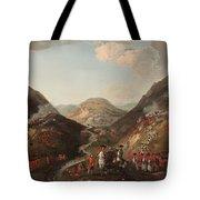 The Battle Of Glen Shiel 1719 Tote Bag