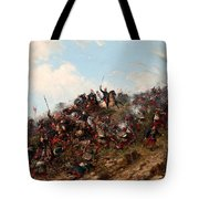 The Battle Of Trevino Tote Bag