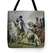 The Battle Of Wagram, 6th July 1809, 1836 Oil On Canvas Tote Bag