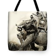 The Battle Of Zama In 202 Bc Tote Bag