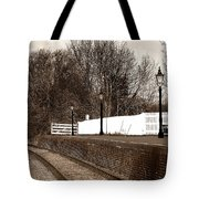 The Battlefield Line Tote Bag