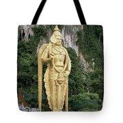 The Batu Caves Tote Bag