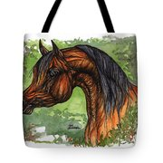 The Bay Arabian Horse 1 Tote Bag