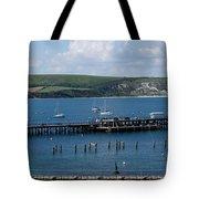 The Bay At Swanage Tote Bag
