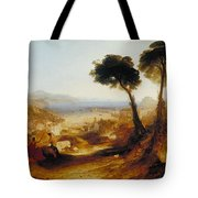 The Bay Of Baiae With Apollo And The Sibyl Tote Bag