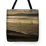 The Beach At Mounts Bay Tote Bag