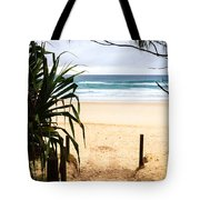 The Beach At Salt Tote Bag