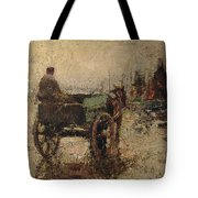 The Beach At St Ives Tote Bag