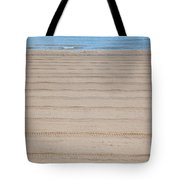 The Beach At Sutton On Sea Tote Bag