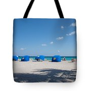 The Beach In Hollywood Florida Tote Bag