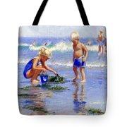 The Beach Pail Tote Bag