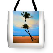 The Beach Poster Tote Bag