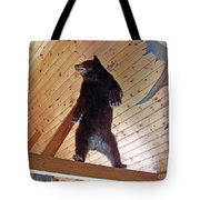 Come And Get Me Down From Here...signed The Bear Tote Bag