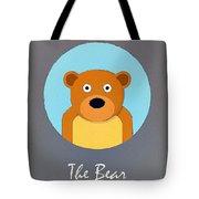 The Bear Cute Portrait Tote Bag