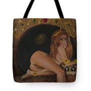 The Beast Is Never Far From Beauty Tote Bag