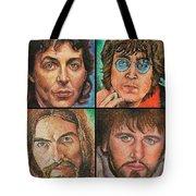 The Beatles Quad Tote Bag
