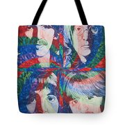 The Beatles Squared Tote Bag