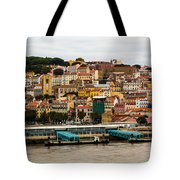 The Beautiful Colors Of Lisbon Tote Bag