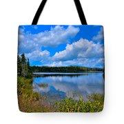 The Beautiful Lake Abanakee New York Tote Bag