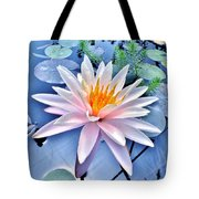 The Beautiful Lily Pond Tote Bag