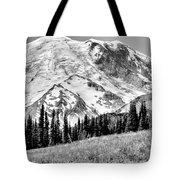 The Beautiful Mount Rainier At Sunrise Park - Washington State Tote Bag