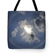 The Beauty Above Tote Bag