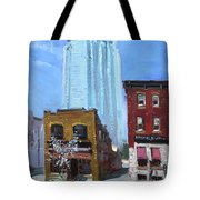 The Beauty N' The Background In London Canada Tote Bag