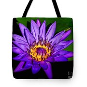 The Beauty Of A Water Liliy Tote Bag