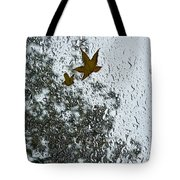 The Beauty Of Autumn Rains - A Vertical View Tote Bag