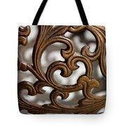 The Beauty Of Brass Scrolls 2 Tote Bag
