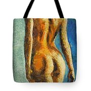 The Beauty Of Female Body Tote Bag