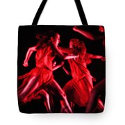 The Beauty Of Motion Tote Bag