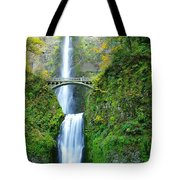 The Beauty Of Multnomah Falls Tote Bag