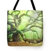 The Beauty Of Old Age Tote Bag