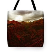 The Beauty Of Zion Natinal Park Tote Bag