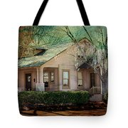 The Beckley House Tote Bag by Gunter Nezhoda