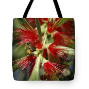 The Bee And Bottlebrush Tote Bag