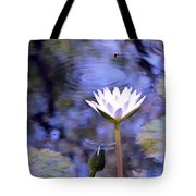 The Bee And The Dragonfly Tote Bag